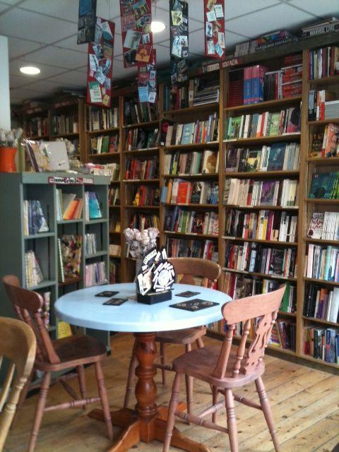 The Albion Beatnik; books and tea, best bookstore concept in Oxford.