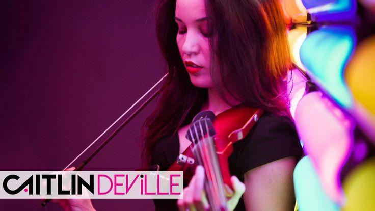 Hey DJ (CNCO & Yandel) - Electric Violin Cover   Caitlin De Ville
