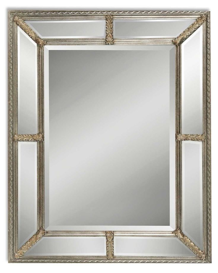 """Lucinda Traditional Wall Mirror 37"""" x 49"""", Uttermost Mirrors, 14048 B - 110% Price Match, Free Shipping, No Tax."""