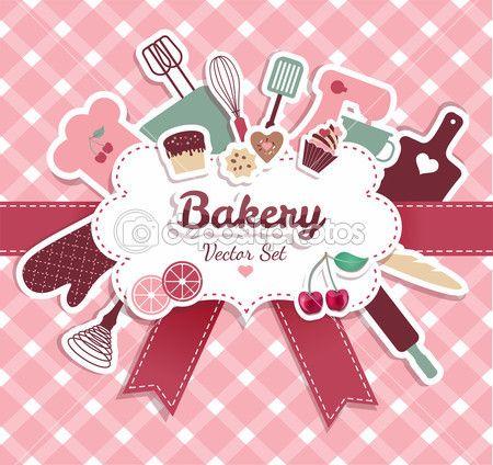 Confeitaria e doces — Ilustração de Stock #53812255                                                                                                                                                     Mais