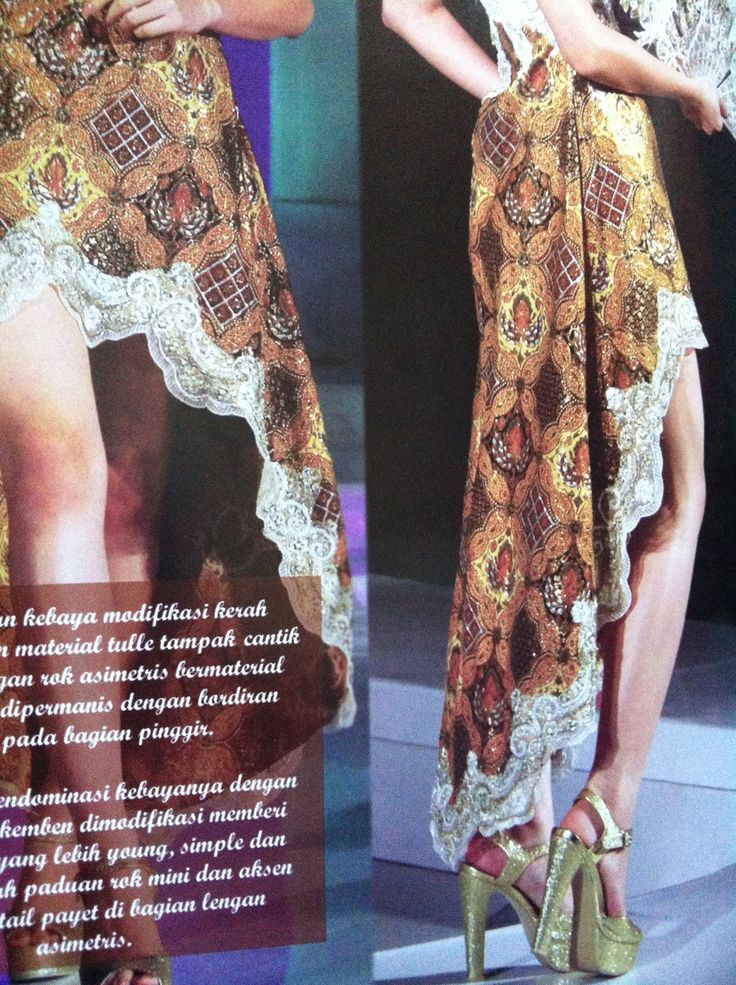 Bawahan #kebaya/// oh I luv this  the shoes wowwww...really cool. I luv Indonesian fashion..and the girls are beautiful. But hey, these shoes!!!!! I luv them... :))