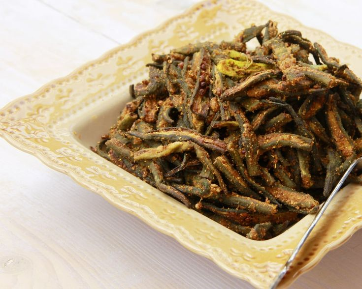 Chatpati Bhindi - Okra made in Air Fryer - Powered by @ultimaterecipe