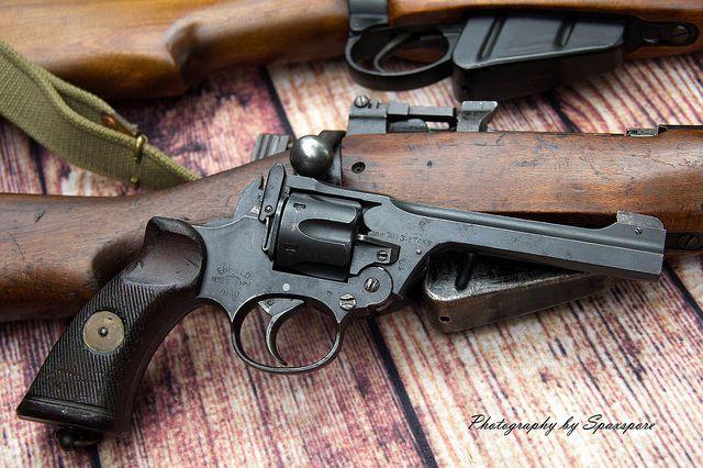 Lee Enfield revolver