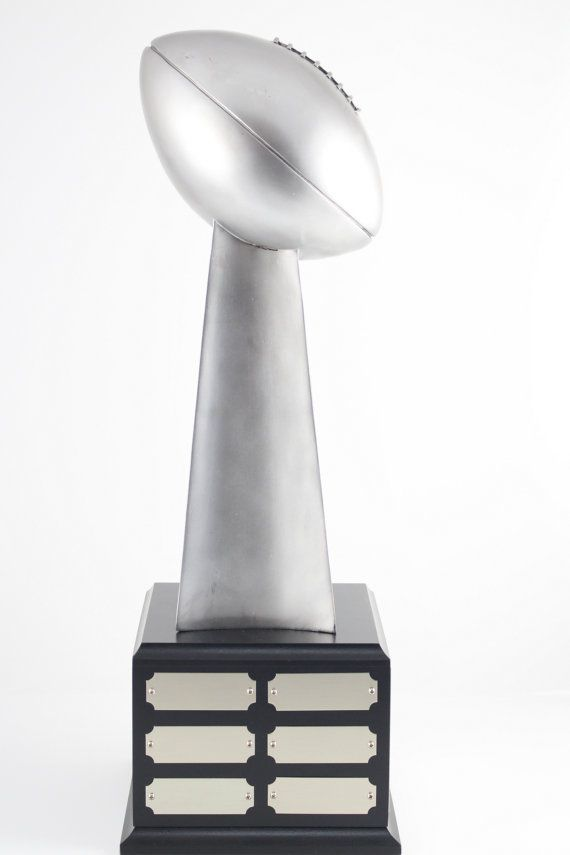 FANTASY FOOTBALL TROPHY Lombardi Style Free Engraving