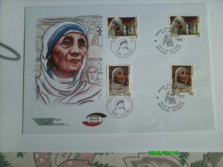 Francobolli * Madre Teresa* 1998