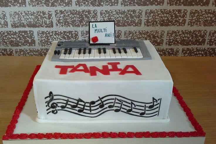 Tort aniversar pt.Tania