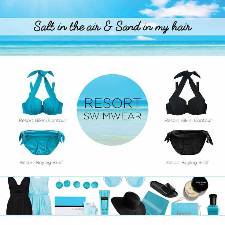 Turquoise or Black - which Resort Bikini are you? Discover the full collection online (in time for Christmas)! https://goo.gl/klUcnc