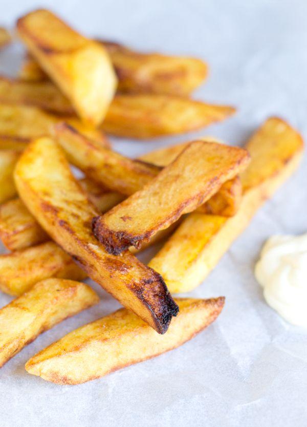 Recept voor het maken van de lekkerste frieten, patatten of frites | via BrendaKookt.nl