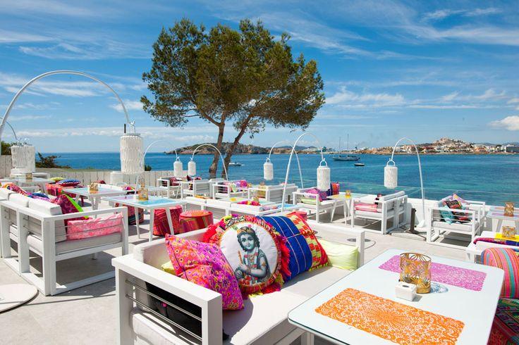 New boho-luxe hotspot in #Ibiza! Patchwork Restaurant, Sa Punta, Ibiza, Spain