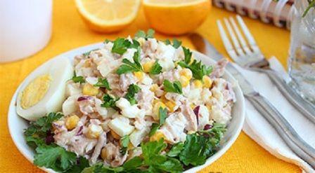 Салат с тунцом / Bon Appétit   - Проще рецепты не бывают   Сайт для гурманов!