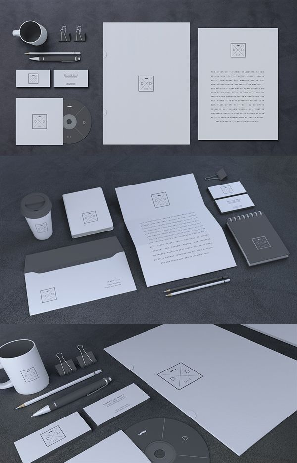the big list of free corporate branding stationery and identity mockups for presentation of a brand professionally designed free psd mockups include easy