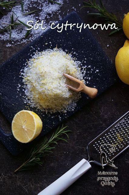 Kulinarne przygody Gatity: Sól cytrynowa