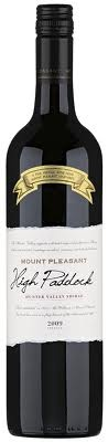 McWilliam's Mount Pleasant High Paddock Shiraz