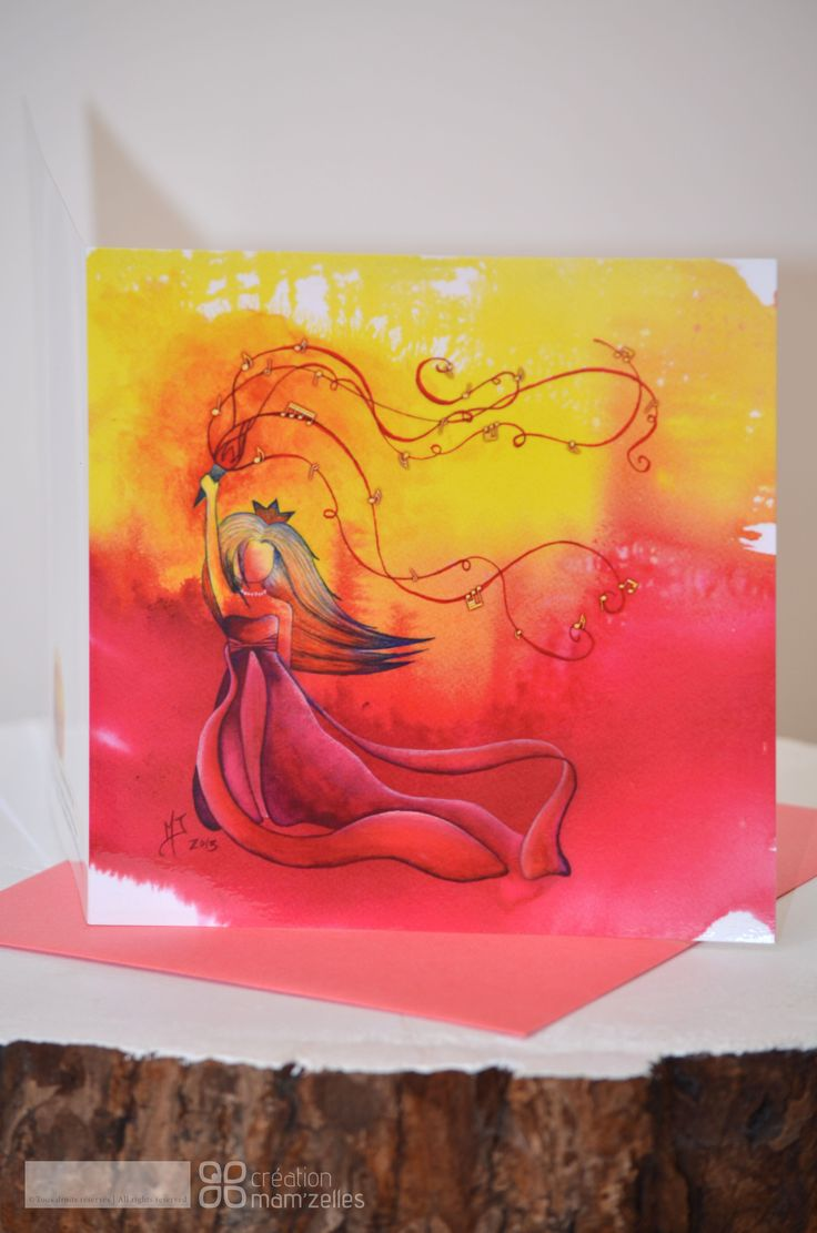 Our newest arrival! AQUAL'L Victory Princess to buy now, click on photo.  Made from an original  watercolor.