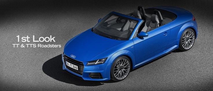 First Look: The New Audi TT Roadster and TTS Roadster - Fourtitude.com