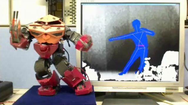 Kinectでシャア専用ズゴックを操作 こんなに早く未来が来るとは・・・