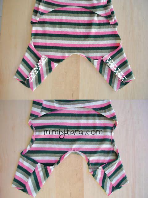 coser piernas pijama