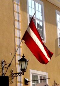 Flag of Latvia. Travel in Latvia (EU) and learn fluent Russian with the Eurolingua Institute http://www.eurolingua.com/russian/russian-homestays-in-latvia