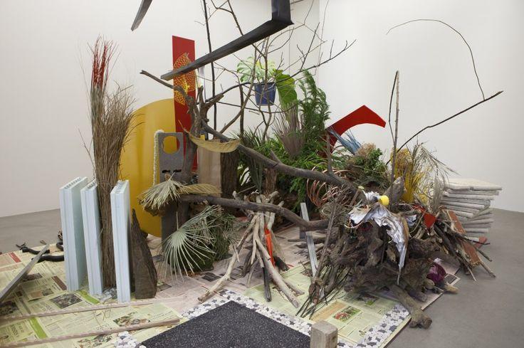 "CAMILLE HENROT - ""Robinson Crusoé"", Daniel Defoë (serie ""Is it possible to be a revolutionary and like flowers?"") 2012 - galerie kamel mennour, Paris"