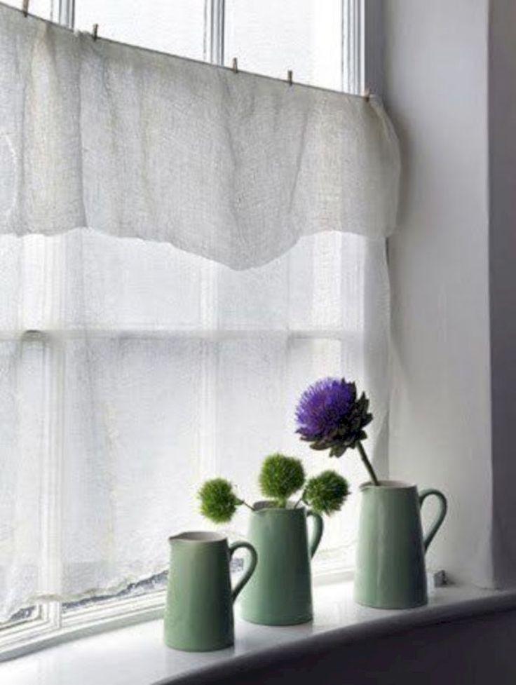 35 Pretty White Curtains for Type Farmhouse i 2020