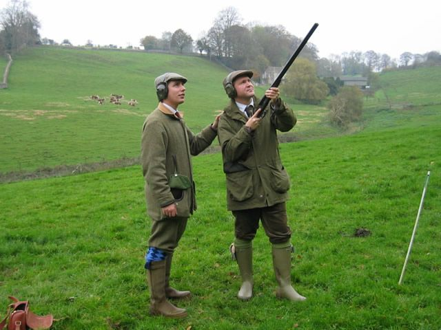 clay pigeon shooting outfit