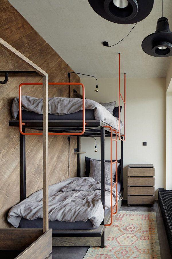 industrial bedroom // quarto estilo industrial