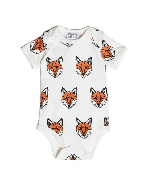 Our iconic Just Call Me Fox print is now available on a vest romper - an essential piece for every baby's wardrobe. We love how it's enough of a standout style to wear alone, or for a full-on fox, coordinate with our Just Call Me Fox Leggings. We quite like mix n matching with our other leggings. Monster Squad and Boris the Badger are favourites. • 100% Oeko-Tex certified jersey cotton• Milkcoloured base• Printed with safe, water-based inks• Designed and made in Britain       ...