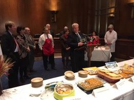 "Rep. Collin Peterson was the proud winner of the competition, with his ""Right to Bear Arms"" hotdish."