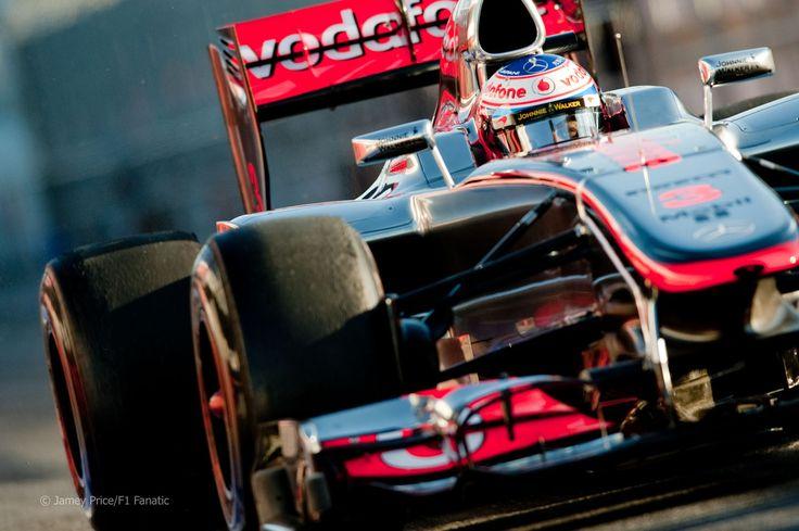 Jenson Button, McLaren, Barcelona, 2012