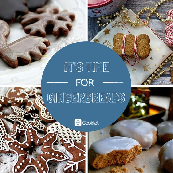 4 ideas for great gingerbreads recipes