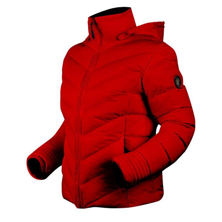 Lehká, zajímavě prošívaná dámská bunda s kapucí určená zejména pro volný čas a méně náročné sportovní aktivity v chladných podmínkách.    odepínací 3D stavitelná kapuce    kapsa na mobilní telefon   skvělý tepelný komfort   2 boční kapsy    voděodolná