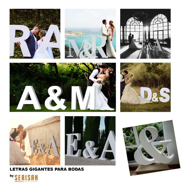 10 best images about letras grandes bodas on pinterest for Letras gigantes para bodas baratas