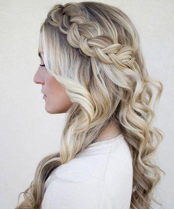 9ae9edff5 120 Peinados de noche para verte bellisima – De Peinados