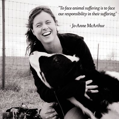 """To face animal suffering is to face our responsibility in their suffering."" ~JoAnne McArthur [ humaneproject.com ]"