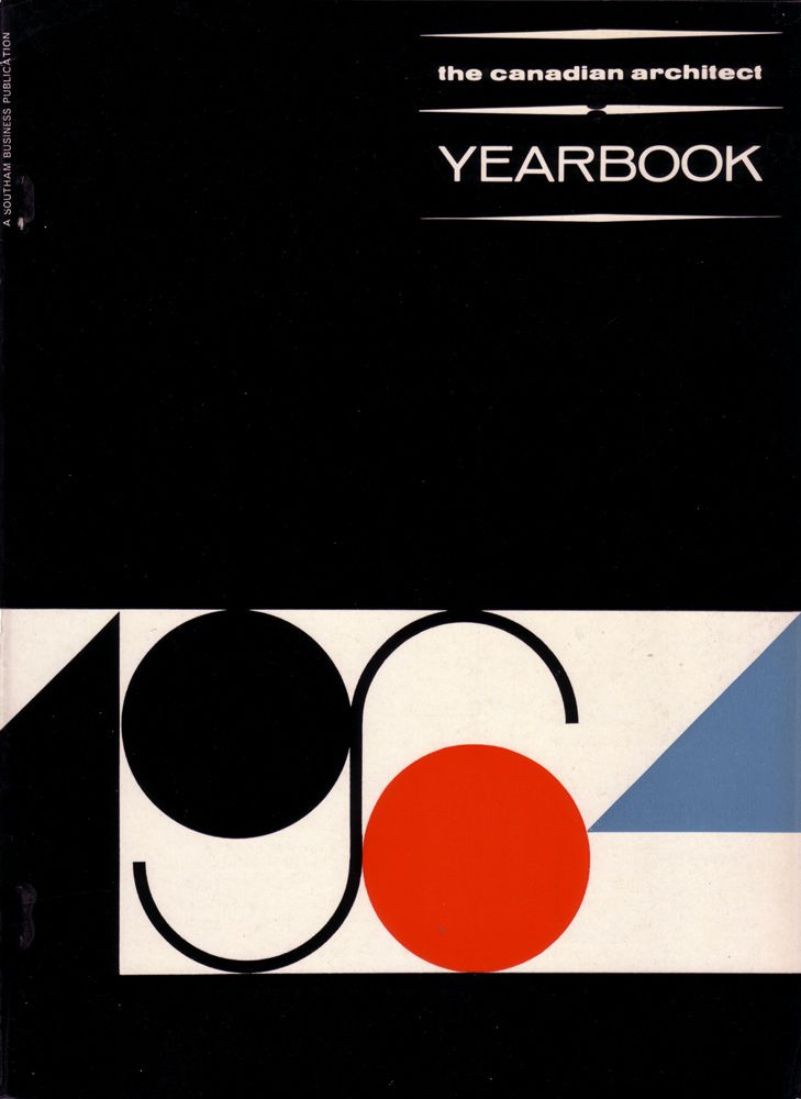 The Canadian Architect covers (1964-67)