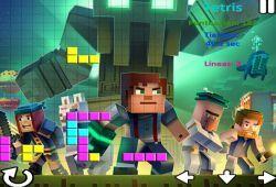 Los bloques amenazan al mundo de Minecraft, pero usted debe neutralizar la amenaza reventado todos los bloques que aparezcan en la pantalla. Construye líneas completas en horizontal para reventarlas.