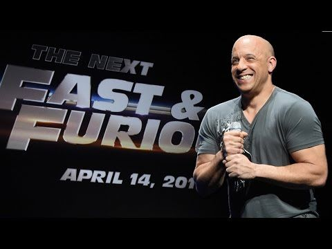 awesome Vin Diesel Announces Fast and Furious 8 Release Date