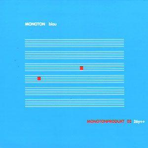 Monoton - Blau: Monotonprodukt 02 26y++ (h)