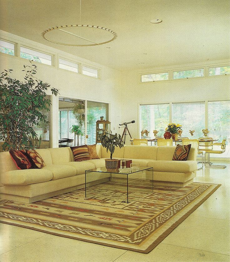 Interior Decorating Ideas For The Better Look: 80s Interiors: A Collection Of Home Decor Ideas To