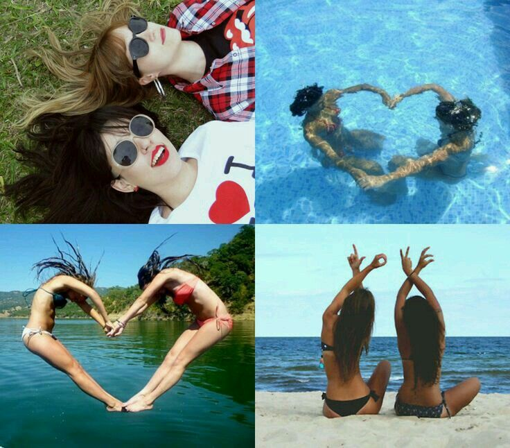Fotos de amigas juntas