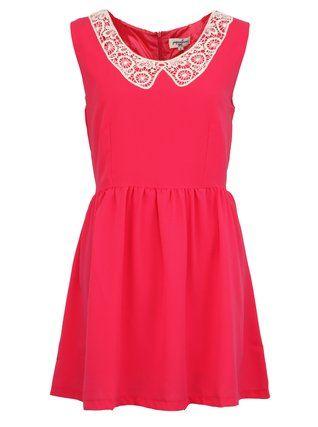 Růžové roztomilé šaty PepaLoves