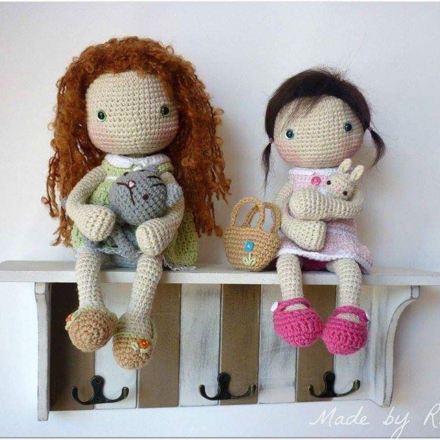 #crochetdoll #crochet #amigurumi #crochet #crochetlover #madebyrusi #rusidolls