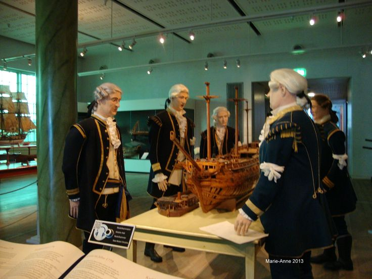 Karlskrona Marinmuseum Befälspersoner