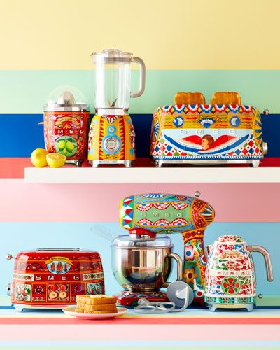 fd03cc57 Dolce Gabbana x SMEG Sicily Is My Love Toaster | Home | Kitchen ...