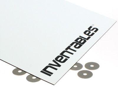 White on Black Laserable Acrylic Sheet