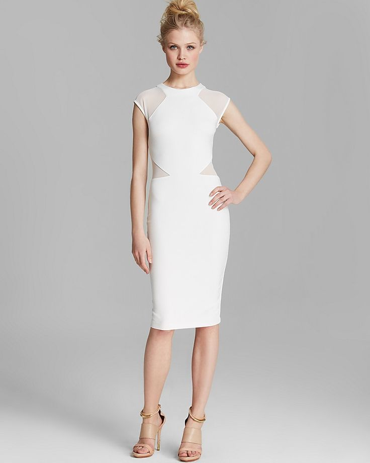 FRENCH CONNECTION  Vivien Paneled Jersey Dress