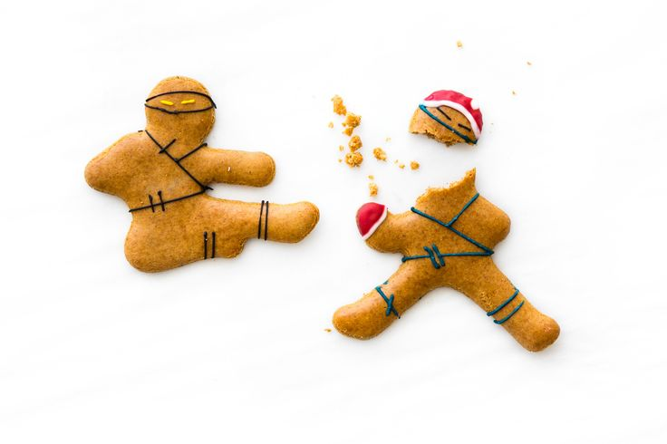 Ginger Ninjas by Anna Polyviou