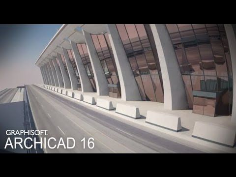 Classics modeled with ArchiCAD - Dulles International Airport