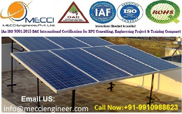Mecci Engineers Is Training Institute He Trained On Student Of Solar Power Plant Solar Power Plant Is A Part Of Electricit Solar Solar Power Plant Solar Design