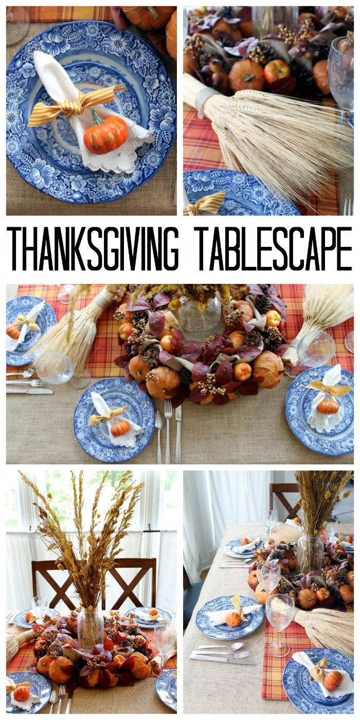 Diy Thanksgiving Decorations For Your Table Thanksgiving Home